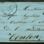 Sur lettre n°4 Céres ,Cachet  type 15+grille+taxe avec lettre «c»,Saintes 3/9/51 – Défiscalisez mieux