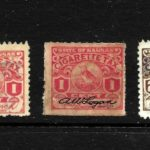 HICK GIRL STAMP- BEAUTIFUL USED  KANSAS  CIGARETTE  TAX  STAMP    X9047 – Défiscalisez mieux