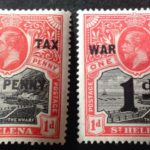 St Helena 1916 2 X Stamps With War Tax Overprint Mint Hinged – Défiscalisez mieux