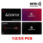 RFID Blocking Credit/Debit Card Protector NFC Contactless Shield Signal Blocker – Défiscalisez mieux