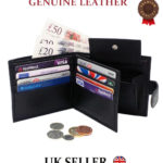 MENS SOFT HIGH QUALITY GENUINE REAL LEATHER WALLET CREDIT CARD COIN DESIGN PURSE – Défiscalisez mieux
