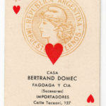 Single tax revenue playing card from Argentina – Défiscalisez mieux