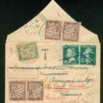 64 Rare Amende pour Objets a Prix Reduits OPR 1F tarif 1 4 1920 Réexpedition,   – Défiscalisez mieux