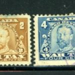 Canada War Tax Stamps – Used – 4 Stamps – Défiscalisez mieux