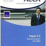 ACCA Paper 2.3 FA 06 Business Taxation: Study Text de…   Livre   état très bon – Défiscalisez mieux