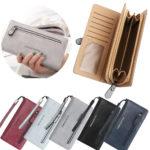 femmes portefeuille en cuir titulaire de la carte de crédit coup de sac sac sac – Défiscalisez mieux