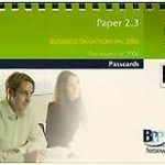 ACCA Paper 2.3 Business Taxation FA 2005 2006: Paper 2.3: …   Livre   état bon – Défiscalisez mieux
