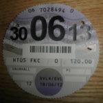 Paper tax disc expiry June 2013 – Défiscalisez mieux
