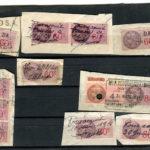 lot anciens  timbres fiscaux 60c,80c,4f – Défiscalisez mieux