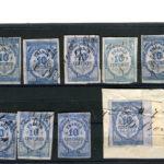lot anciens  timbres fiscaux Quittance 10c – Défiscalisez mieux