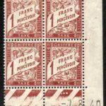 Coin daté Taxe n° 40A du 7/8/1940 ** – Défiscalisez mieux