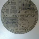 Vintage Vehicle Road Tax Disc – Exp June 1946 – Défiscalisez mieux