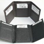 Golunski Leather Tri-Fold Credit Card Wallet Holder Black or Dark Brown – Défiscalisez mieux