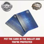 SOLID RFID Blocking Card Credit Debit NFC Contactless Protector Signal Blocker – Défiscalisez mieux