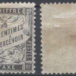 FRANCE TIMBRE TAXE N°15 – NEUF * AVEC GOMME D'ORIGINE – COTE 300€ – Défiscalisez mieux