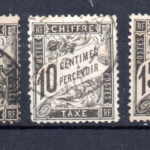 FRANCE// TIMBRES TAXES N°10+14/16+18 OBLITERES – Défiscalisez mieux