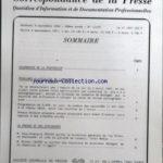 CORRESPONDANCE DE LA PRESSE (LA) [No 11312] du 12/01/1994 – SOMMAIRE – CALENDRIER DE LA PROFESSION – PROBLEMES DÔÇÖACTUALITE DE LA PRESSE – M ALAIN CARIGNON MINISTRE DE LA COMMUNICATION PROPOSE UNE PARTICIPATION DECISIVE DE LA FRANCE DANS LA MISE EN PLACE DÔÇÖUNE POLITIQUE EUROPEENNE DE LÔÇÖAUDIOVISUEL – IL FAUDRA AVOIR LE COURAGE DE REMETTRE EN CAUSE CERTAINES NICHES FISCALES ESTIME M NICOLAS SARKOZY MINISTRE DU BUDGET PORTE-PAROLE DU GOUVERNEMENT – PERSISTANCE DE LA MEFIANCE DES FRAN+çAIS ENV* – Réduisez vos impôts