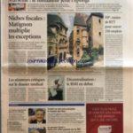 FIGARO ECONOMIE (LE) [No 19052] du 04/11/2005 – TOURISME D'AFFAIRES MARSEILLE – LE MEDIATEUR JETTE L'EPONGE NICHES FISCALES – MATIGNON MULTIPLIE LES EXCEPTIONS HP – MOINS DE RTT POUR SAUVER 250 EMPLOIS LES SENATEURS CRITIQUES SUR LE DOSSIER MEDICAL DECENTRALISATION – LE RMI EN DEBAT LA HAUSSE PROGRAMMEE DES PRIX DE L'ENERGIE SCOR CONFIRME SON REDRESSEMENT LES DECIDEURS LA LISTE DES ENTREPRISES LA COTE COMPLETE TRICHET NE VEUT PAS PRECIPITER LA HAUSSE DES TAUX LE GROUPE CANAL – Réduisez vos impôts