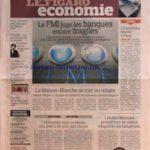 FIGARO ECONOMIE (LE) [No 20584] du 06/10/2010 – LE FMI JUGE LES BANQUES ENCORE FRAGILES – LE PATRON DE BMW ECARTE TOUTE FUSION – LE PALMARES DES NICHES FISCALES LES PLUS COUTEUSES – L'immobilier flambe a paris – yuan / la france veut menager les chinois – bachelot et les medecins – la france va importer du ciment low-cost – la maison-blanche se met au solaire – l'ECONOMIE SUD-COREENNE A LA MERCI DU PRIX DES CHOUX – LES DISTRIBUTEURS PROMETTENT DE MIEUX RESPECTER LES INDUSTRIELS – FREE FAIT DE L* – Réduisez vos impôts
