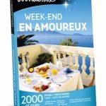 Wonderbox – Coffret cadeau couple – WEEK-END EN AMOUREUX – 1430 week-ends romantiques : hôtels, gîte – Réduisez vos impôts