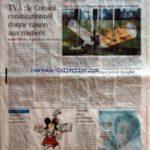 MONDE (LE) [No 18953] du 31/12/2005 – TVA – LE CONSEIL CONSTITUTIONNEL DONNE RAISON AUX ROUTIERS – BUDGET 2006 – PAS DE PLAFOND AUX NICHES FISCALES PAR CHRISTOPHE JAKUBYSZYN TABAC – A SON TOUR, L'ESPAGNE PART EN GUERRE CONTRE LES FUMEURS UNE EXPERIENCE DEMOCRATIQUE PRES DE SHANGHAI PAR BRUNO PHILIP LA BATAILLE DE LA SECONDE SUPPLEMENTAIRE UNE SAINT-SYLVESTRE SOUS HAUTE SURVEILLANCE NOUVELLE BAISSE DU CHOMAGE EN NOVEMBRE. – Réduisez vos impôts