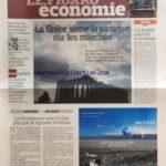 FIGARO ECONOMIE (LE) [No 20431] du 09/04/2010 – ANTOINE BERNHEIM / ON M'A MIS A LA PORTE DE GENERALI -FRANCOIS FILLON VA S'ATTAQUER AUX NICHES FISCALES -LA GRECE SEME LA PANIQUE SUR LA MARCHES -LES ANGLAIS ADOPTENT LA LOI HADOPI -HERVE NOVELLI DEFEND LES AUTO-ENTREPRENEURS FACE AUX ATTAQUES -AERIEN / IBERIA ET BRITISH AIRWAY FUSIONNENT -L.V.M.H VA OUVRIR 2 HOTELS CHEVAL BLANC -LA CESSION DE GO VOYAGES EST ENGAGEE -LA CHAMPAGNE VAUT 2 FOIS ET DEMI PLUS QUE LE VIGNOBLE BORDELAIS -LES EMISSIONS D – Réduisez vos impôts