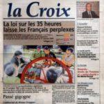 CROIX (LA) [No 34845] du 18/10/1997 – DOSSIER SPECIAL – THERESE DE LISIEUX LA JEUNE SAINTE DOCTEUR DE L'EGLISE – LA LOI SUR LES 35 HEURES LAISSE LES FRANCAIS PERPLEXES – PROCES PAPON – PASSE GIGOGNE – L'EDITORIAL DE BRUNO FRAPPAT – L'ACTUALITE – EDOUARD BALLADUR VEUT CONVAINCRE LES FRANCAIS QUE LA DROITE A UNE POLITIQUE SOCIALE – EXAMINANT LE BUDGET 98 LES DEPUTES DEBUSQUENT LES NICHES FISCALES- LA SONDE PARTIE POUR SATURNE SERA LE DERNIER POIDS LOURD DES MISSIONS SPATIALES – LE FORUM – RWANDA – Réduisez vos impôts